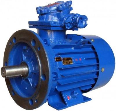 Взрывозащищенный электродвигатель АИМУ 80 А2